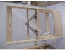 Распечатыватель медовых рамок «КЛИН» электрический (дерево)