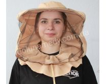 Маска пчеловода удлинённая. Ткань габардин.Состав: 40% хлопок, 60 % полиэстер.