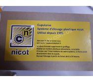 Комплект –система НИКОТ-30 (заводская упаковка) ( кассета -1, мисочки -110,цоколь -30, держатель -30) Франция