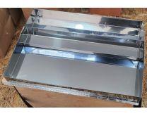 Арматура солнечной воскотопки на одну рамку, из нержавеющей стали