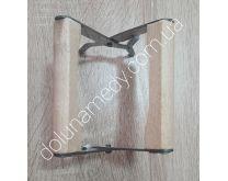 Захват нержавеющий для рамок с деревянной ручкой